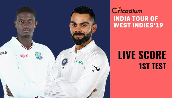 India tour of West Indies, 2019: WI vs IND 1st Test Live Score