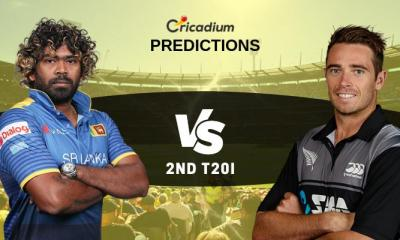 New Zealand tour of Sri Lanka, 2019 2nd T20I SL vs NZ Match Prediction Who Will Win
