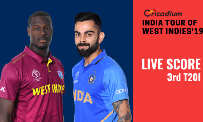 India tour of West Indies, 2019: WI vs IND 3rd T20I Live Score
