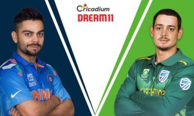 South Africa tour of India, 2019 2nd T20I IND vs SA Dream 11 Team