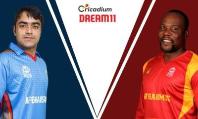 Bangladesh Tri-Series 2019 2nd Match AFG vs ZIM Dream 11 Team