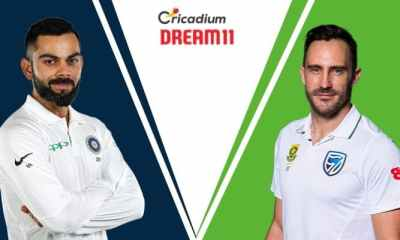 South Africa tour of India, 2019 3rd Test IND vs SA Dream 11 Team