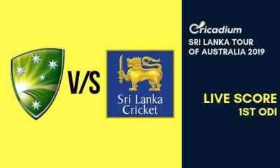 Sri Lanka Women tour of Australia, 2019 1st ODI Australia Women vs Sri Lanka Women Live Cricket Score
