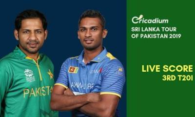 Sri Lanka tour of Pakistan, 2019 3rd T20I Pakistan vs Sri Lanka Live Cricket Score
