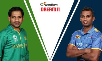 Sri Lanka tour of Pakistan, 2019 3rd T20I PAK vs SL Dream 11 Team