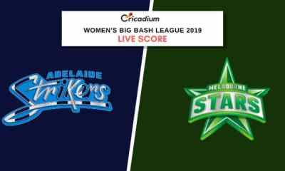 WBBL 2019: Women's BBL Match 27 ADSW vs MLSW Live Cricket Score
