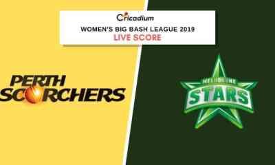 WBBL 2019: Women's BBL Match 18 PRSW vs MLSW Live Cricket Score