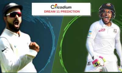Bangladesh tour of India, 2019 1st Test IND vs BAN Dream 11 Team