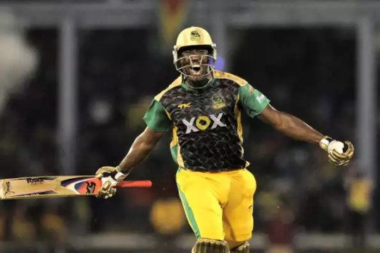 Image result for russell jamaica tallawahs