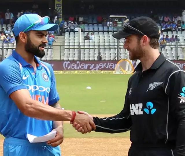 India Vs New Zealand 1st Odi Mumbai Virat Kohli Won The Toss And Decided To Bat First In His 200th Odi