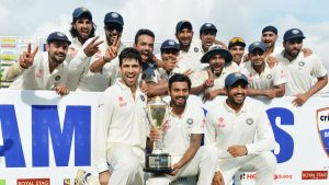 India's First Test Series Win in Srilanka Since 1993