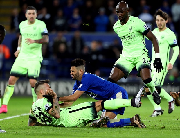 Manchester City were defensively good, but not incisive in an attacking sense, against Leicester City
