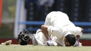 Virat Kohli's first Test double
