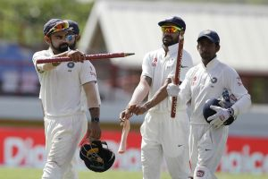 Indian Playing XI for Trinidad Test