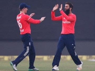 England won the 1st T20 vs. India by seven wickets