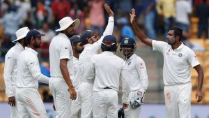 2017 India vs Australia 2nd Test scorecard, Bangalore