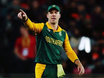 South Africa Champions Trophy Squad
