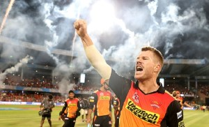 IPL 2017, 33rd match: Sunrisers win by 26 runs