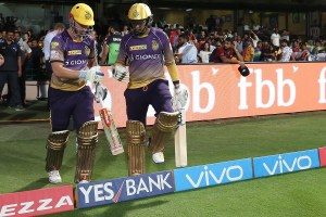 46th Match: Sunil Narine records joint-fastest IPL fifty and puts together highest powerplay score with Chris Lynn