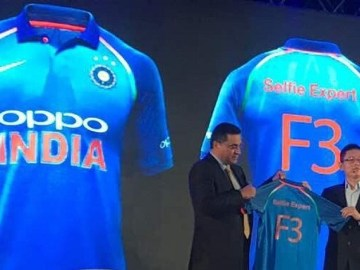 New Team India jersey unveiling, OPPO Indian Cricket Team sponsorship
