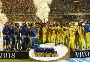 IPL winners list, 2018 to 2008