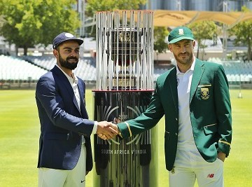India Test match, series list 2018