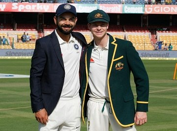 Kohli vs Smith in Test