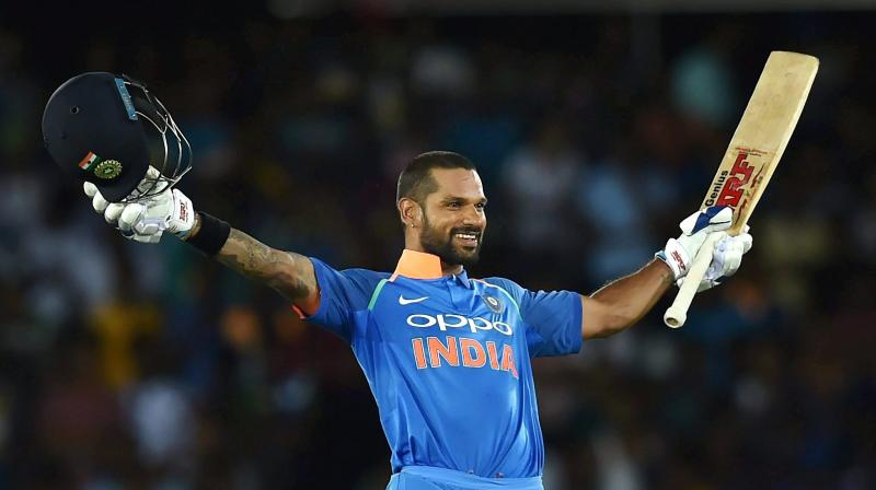 Shikhar Dhawan centuries | Test and ODI hundreds list