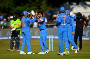 India tour of Ireland, England 2018 results