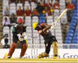 Most sixes in CPL T20 2018