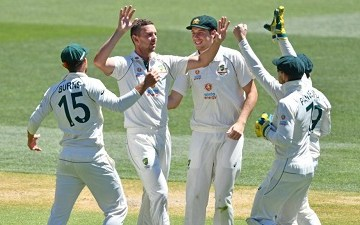 Brief scorecard of Australia vs India 1st Test 2020, stats