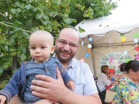 Mohamed Moussaoui et son fils