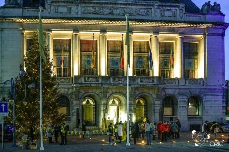 L'hôtel ville aux couleurs des droits humains