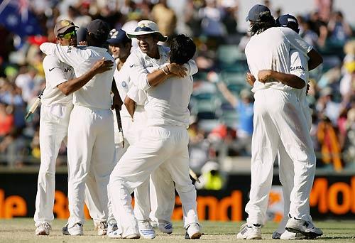 India win at Perth
