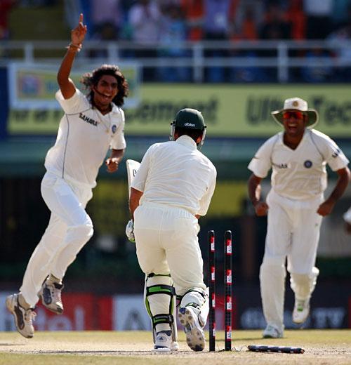 Ishant Sharma, Ricky Ponting