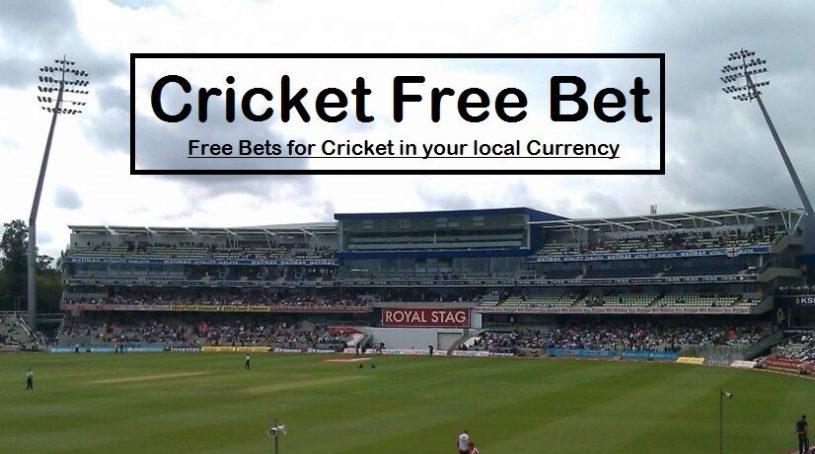 Cricket Free Bet