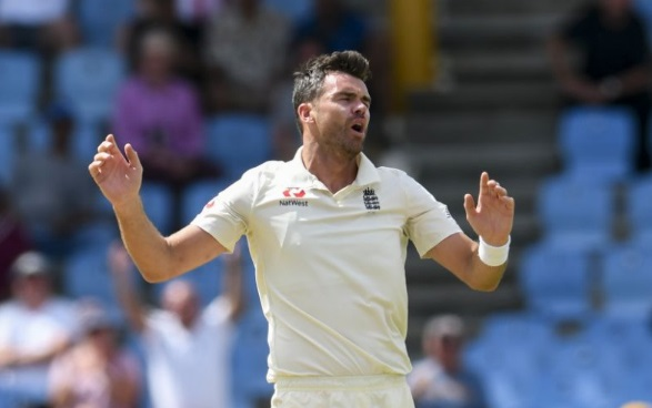 Jimmy Anderson Calf Injury