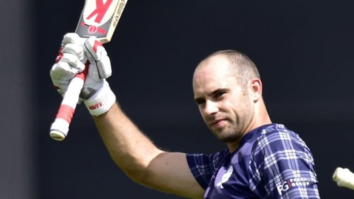 Kyle Coetzer to play for Pokhara Rhinos | TVS EPL18