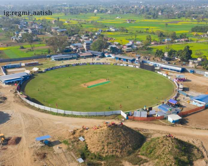 My Chitwan Diary: A trip to Gautam Buddha International Cricket Stadium