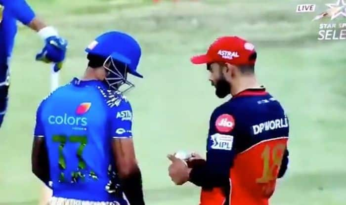 IPL 2020: Suryakumar Yadav Reveals What RCB Skipper Virat Kohli Told Him After Controversial Staredown Episode