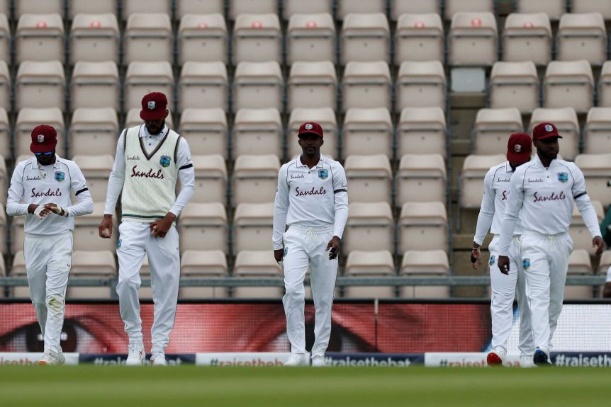 Why the West Indies team was banned from training in New Zealand?