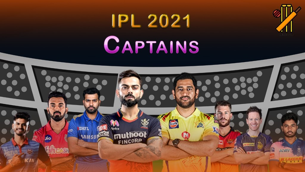 IPL 2021 Captains