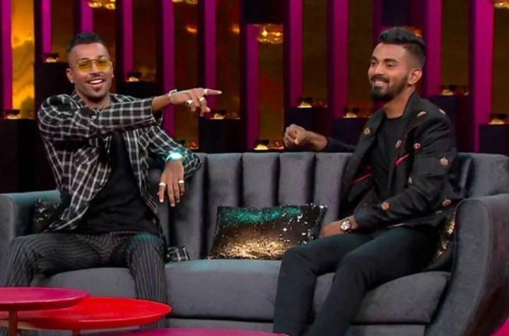 Hardik Pandya and KL Rahul In Koffee With Karan