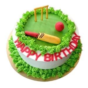 Cricket Cake I How To Make Cricket Cake? I Cricketfile