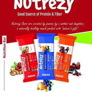 Nutrezy Assorted Nuts & Seeds Energy Bar