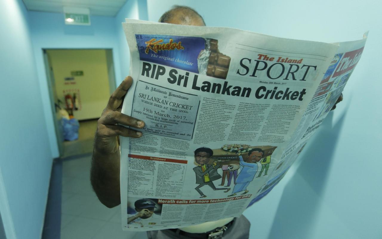 death of sri lanka cricket