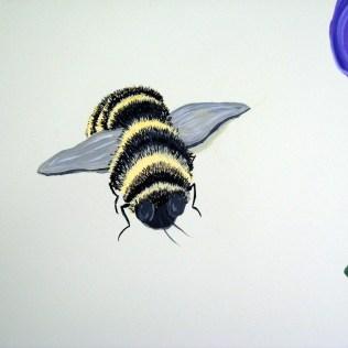 Bumblebee hard at work