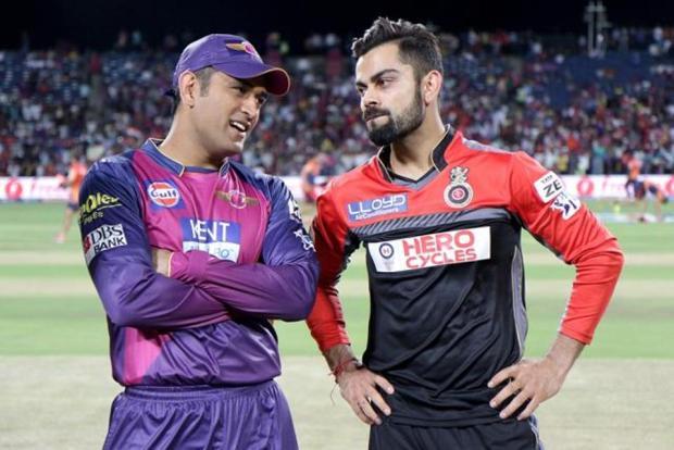 IPL 2016 MS Dhoni and Virat Kohli