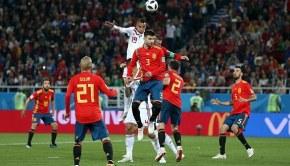 Spain v Morocco