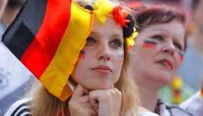 A sad German fan